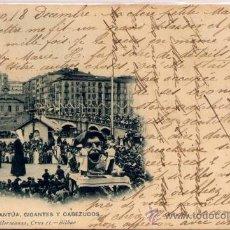 Postales: BILBAO(VIZCAYA).-GARGANTÚA,GIGANTES Y CABEZUDOS. Lote 17316140