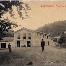 Postales: URBERUAGA(VIZCAYA).- FONDA DE VISTA ALEGRE. Lote 17317918
