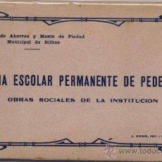 Postales: ÁLBUM COMPLETO DE LA COLONIA ESCOLAR PERMANENTE DE PEDERNALES(VIZCAYA). Lote 17318012
