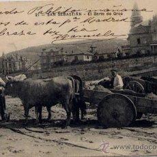 Postales: SAN SEBASTIÁN(GUIPUZCOA).-EL BARRIO DE GROS. Lote 17437775