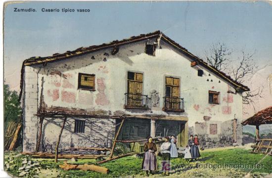 Zamudio vizcaya caserio tipico vasco comprar postales - Caserios pais vasco ...