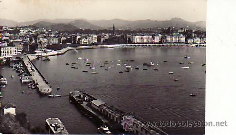SAN SEBASTIAN.DESDE MONTE URGULL. AÑO 1959.MAS POSTALES Y COLECCIONISMO EN RASTRILLOPORTOBELLO (Postales - España - País Vasco Moderna (desde 1940))