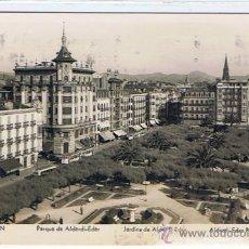 Postales: SAN SEBASTIAN, DONOSTI, POSTAL CIRCULADA, SELLADA Y RESELLADA, EDITOR MANIPEL, SELLO DE F. FRANCO. Lote 22134240