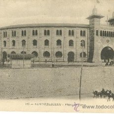 Postales: SAN SEBASTIÁN. PLAZA DE TOROS.. Lote 17725473