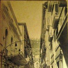 Postales: SAN SEBASTIÁN: CALLE MAYOR. EDITOR LATIEULE Nº 45. ANTERIOR A 1906. Lote 17758863