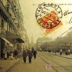 Postales: SAN SEBASTIÁN. CALLE HERNANI. EDITOR J. LATIEULE Nº 17. ANTERIOR A 1906. Lote 17814031