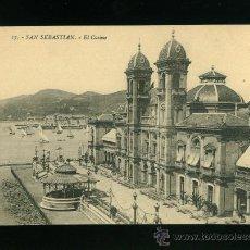 Postales: POSTAL ANTIGUA DE SAN SEBASTIAN. Lote 17857069