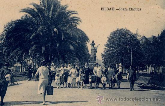 BILBAO(VIZCAYA).-PLAZA ELÍPTICA (Postales - España - Pais Vasco Antigua (hasta 1939))