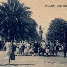 Postales: BILBAO(VIZCAYA).-PLAZA ELÍPTICA. Lote 17874100