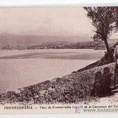 Postales: TARJETA POSTAL DE FUENTERRABIA,GUIPUZCOA Nº 161. VISTA TOMADA DE LA CARRETERA DEL FARO. ND.. Lote 17926074