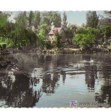 Postales: 45 - BILBAO - ESTANQUE DEL PARQUE - FOTO COLOREADA. Lote 26517750