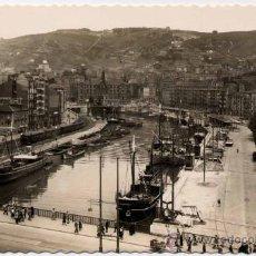 Postales: BILBAO(VIZCAYA).-MUELLE DEL ARENAL Y RIPA. Lote 18410983