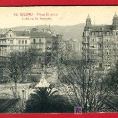 Postales: BILBAO, VIZCAYA, PLAZA ELIPTICA, P36527. Lote 18411057