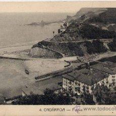 Postales: ONDARROA(VIZCAYA).-PLAYAS. Lote 18411889