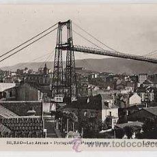 Postales: BILBAO. LAS ARENAS, PORTUGALETE, PUENTE VIZCAYA. L. ROISIN, FOT. SIN CIRCULAR. Lote 18893942