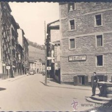 Postales: EIBAR (GUIPUZCOA).- CALLE DE LA ESTACIÓN. Lote 19282607