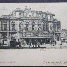 Postales: BILBAO – TEATRO ARRIAGA – ROMMLER & JONAS, DRESDE. Lote 25051543