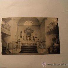Postales: POSTAL DEL BALNEARIO DE CESTONA. CAPILLA. SIN CIRCULAR. RECORTADA. POSTAL 136. Lote 19366150