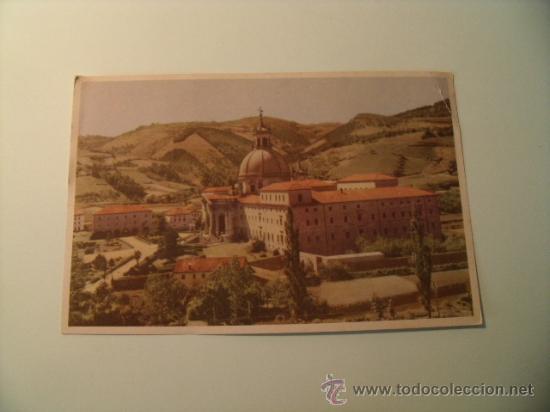 POSTAL DEL SANTUARIO DE LOYOLA DESDE EL RÍO URIOLA. SIN CIRCULAR. POSTAL 249 (Postales - España - País Vasco Moderna (desde 1940))