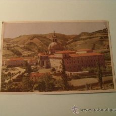 Postales: POSTAL DEL SANTUARIO DE LOYOLA DESDE EL RÍO URIOLA. SIN CIRCULAR. POSTAL 249. Lote 19521485