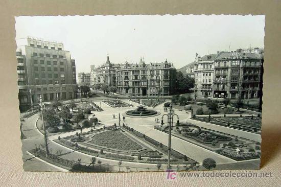 Antigua postal foto bilbao plaza federico m comprar - Bilbao fotos antiguas ...