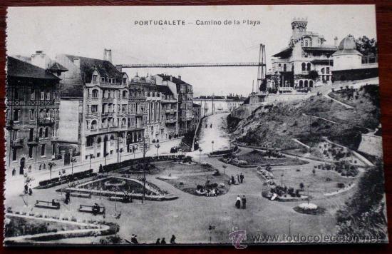 Antigua postal de portugalete bilbao camino comprar - Bilbao fotos antiguas ...
