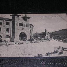 Postales: SAN SEBASTIAN - PLAZA DE TOROS. Lote 20093717