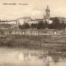 Postales: FUENTERRABIA - VISTA GENERAL. Lote 20337072
