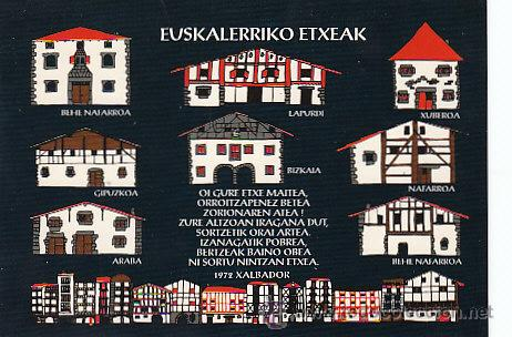 Casas y caserios vascos comprar postales del pa s vasco en todocoleccion 20794155 - Casas pais vasco ...