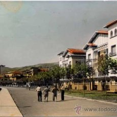 Postales: ZUMAYA(GUIPUZCOA).- AVENIDA DEL CONDE DE VALLELLANO. Lote 21012338