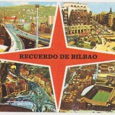 Postales: RECUERDO DE BILBAO,EXCLUSIVAS SAN CAYETANO. Lote 21041890