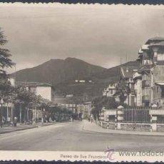 Postales: TOLOSA (GUIPUZCOA).- PASEO DE SAN FRANCISCO. Lote 21389422