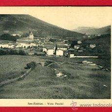 Postales: SAN ESTEBAN , VIZCAYA , VISTA PARCIAL , REVERSO SIN PARTIR , P43966. Lote 27356212