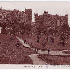 Postales: BILBAO (VIZCAYA): PARQUE DEL ENSANCHE. L. ROISIN FOTÓGRAFO. NO CIRCULADA (AÑOS 30-40). Lote 24975951
