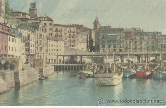 SAN SEBASTIAN,PUERTO.MIRE MAS POSTALES Y COLECCIONSIMO EN RASTRILLOPORTOBELLO (Postales - España - País Vasco Moderna (desde 1940))