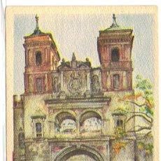 Postales: EDICIONES DE ARTE, LABORDE Y LABAYEN, TOLOSA, GUIPÚZCOA.- TOLEDO, PUERTA DEL CAMBRÓN.. Lote 26142092