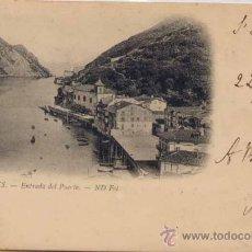 Postales: PASAJES (GUIPUZCOA).- ENTRADA DEL PUERTO. Lote 22133995