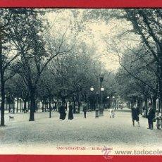 Postales: SAN SEBASTIAN, GUIPUZCOA, EL BOULEVARD, P43639. Lote 22643052