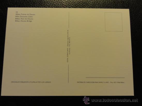 Postales: POSTAL DE BILBAO, PUENTE DE DEUSTO - Foto 2 - 22869072