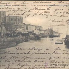 Postales: ZUMAYA (GUIPUZCOA).- VSTA DEL PUERTO. Lote 23102088