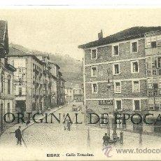 Postales: (PS-20807)POSTAL DE EIBAR-CALLE ESTACION. Lote 23701326