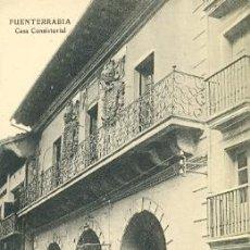 Cartes Postales: 7-ESP164. POSTAL FUENTERRABIA. CASA CONSISTORIAL. Lote 23801622