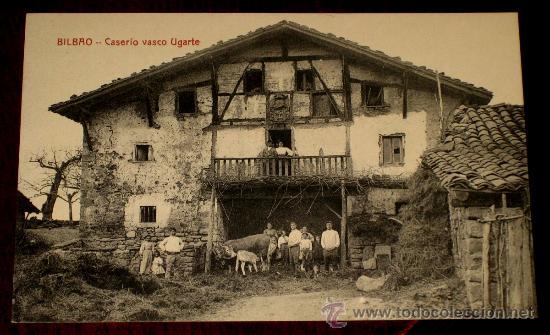 Antigua postal de bilbao caserio vasco ugarte comprar - Bilbao fotos antiguas ...