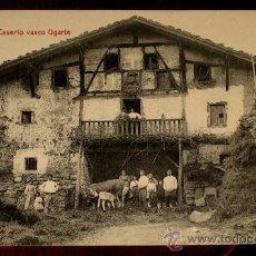 Postales: ANTIGUA POSTAL DE BILBAO - CASERIO VASCO UGARTE - ED. LIBRERIA VILLAR - NO CIRCULADA.. Lote 24313942