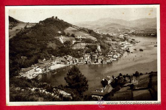 SAN SEBASTIAN, GUIPUZCOA, PUERTO DE PASAJES SAN JUAN, P49782 (Postales - España - Pais Vasco Antigua (hasta 1939))