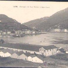 Postales: PASAJES DE SAN PEDRO Y SAN JUAN (GUIPUZCOA). Lote 25213878