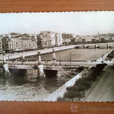 Postales: POSTAL SAN SEBASTIAN RIO URUMEA Y PUENTES. Lote 25308536