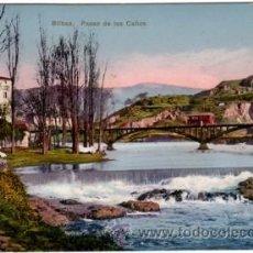 Postales: Nº 8752 BILBAO PASEO DE LOS CAÑOS. Lote 25447513
