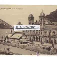 Postales: 17 SAN SEBASTIAN - EL GRAN CASINO - FOTO G. G. GALARSA. Lote 27246311