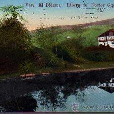 Postales: MUY BUENA POSTAL DE VERA EL BIDASOA RIBERA DEL DOCTOR GUEZURTEGUI 1924 EDIT, ANTONIO ECHAIDE Nº 3. Lote 25802944